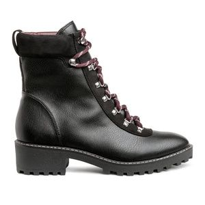 H&M Women's Warm-lined Boots Size US 6/37